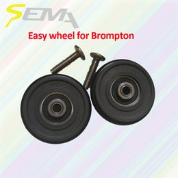 $enCountryForm.capitalKeyWord NZ - SEMA easy wheel for Brompton light weight 40g best quality easy wheel for brompton bike plastic hot sale products