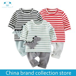 new born baby suits 2019 - Spring clothes new born baby clothes suit baby products clothing newbornfor MD014-1 discount new born baby suits