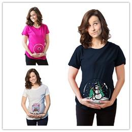 7bbcc15046cbb Plus Size Summer Cartoon Loose Short Sleeve Pregnant Maternity T Shirt  Pregnancy Clothing Clothes For Pregnant Women Wear