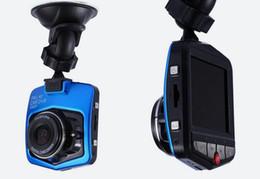 Venta al por mayor de La más nueva Mini cámara LCD de 2.4 pulgadas, cámara DVR para coche, 140 grados, videocámara GT300, 1080P, HD, grabadora de estacionamiento, G-sensor, cámara de video, cámara de cámara