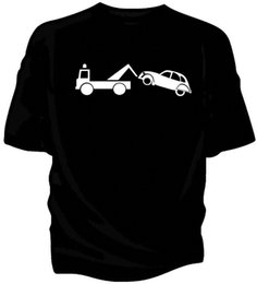 Cars Different UK - 'Citroen 2CV Breakdown' classic car humour t-shirt. Fashion Men And Woman T Shirt Free Shipping Different Colours High Quality 100