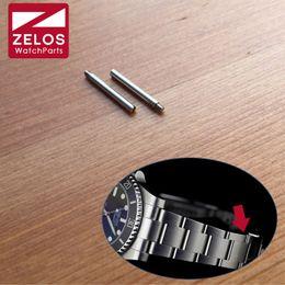 $enCountryForm.capitalKeyWord Canada - 2pieces set short watch Screw tube For RLX oyster Perpetual Sub mariner watch steel band connect buckle screw rod 116610