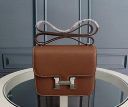 $enCountryForm.capitalKeyWord Canada - Stewardess package new H female bag small square leather shoulder Messenger bag high quality star handbag