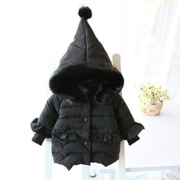 Coating Thickness Australia - Coat Baby Girl Infant Hoodie Thickness Autumn Winter Infant Jacket Baby Coat