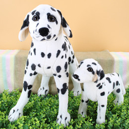 20170703 The Creation Model Is Cute Doll Of Imitation Middle Size Dog Plush Toy Dalmatian Puppy