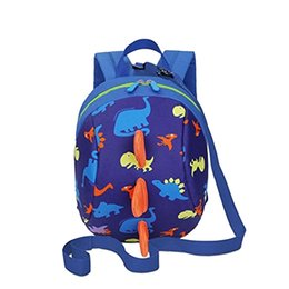 2018 Children Kids Backpacks Boys Girls 3D Cartoon Dinosaur Anti Lost Backpacks  School Bags b252517b9452a