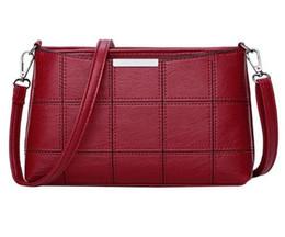 $enCountryForm.capitalKeyWord UK - Fashionable Women Handbag PU Leather Plaid Messenger Autumn Women Crossbody Shoulder Bags Brand Female Top Handle Handbag