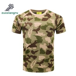 Discount tactical t shirts - Men Women Outdoor Sport Camouflage T Shirt Hot Fishing And Hunting Uniform Quick Dry Tactical Clothing Climbing Shirts