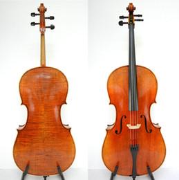 """Discount ebony models - Master Cello!Outstanding Sound!Stradivari 1712 """"Davidov"""" Cello Model"""