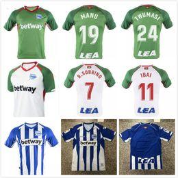 3eb1e3099 New 2018 2019 Deportivo Alaves soccer jersey 18 19 home Away Third Alaves  jersey Guedetti BURGUI IBAI SOBRINO Munir Football shirts