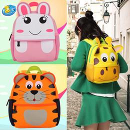 $enCountryForm.capitalKeyWord NZ - 3D Cute Animal Design Children Backpacks School Bags for Girls Cartoon Baby Bag for Kindergarten Primary Children