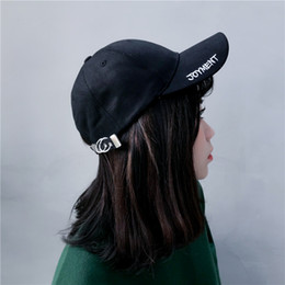 e76b8ead73a Hats Hipster Canada - Hat he him  male and female youth spring summer  baseball cap
