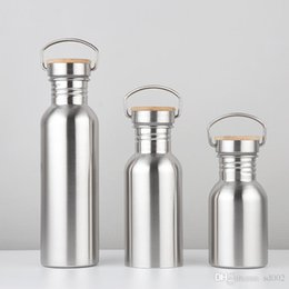 $enCountryForm.capitalKeyWord NZ - Stainless Steel Water Bottle Portable Kettle Outdoor Fitness Sport Cup Heat Preservation Vacuum Cup Many Size Non Toxic For Drink 12jb3 ZZ