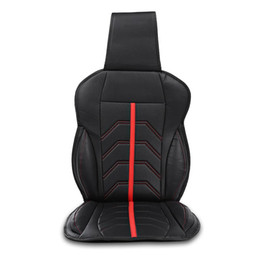 Front End Car UK - PU Single Front Car Seat Cover Four Seasons Universal High End Cover High Quality And Protect The Car Seat Well Black Color