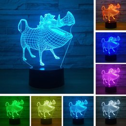 Led Table Lamps United Seven Dragon Ball 3d Seven Color Touch Table Lamp Creative Usb Variable Night Table Lamps For Living Room