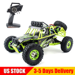 HigH electric sHock online shopping - WLtoys RC Cars WD KMH High Speed Racing Cars Monster Truck Rock Crawler Electric Remote Control Off road Vehicle US STOCK