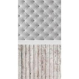 Discount vinyl photographic backgrounds - Durable 3x5ft Vinyl Wood Floor Photography Backdrops Studio Individual Photo Props Photographic Background cloth 90x150c