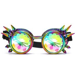 $enCountryForm.capitalKeyWord UK - 2018 Kaleidoscope Colorful Glasses Rave Festival Party EDM Sunglasses Diffracted Lens spectacles gafas de sol mujer okulary B20