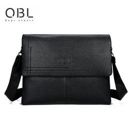 $enCountryForm.capitalKeyWord NZ - Men messenger bag shoulder bag high quality PU material simple casual fashion single item business party universal briefcase