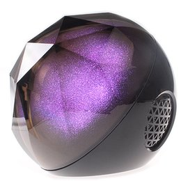 Wholesale Color Ball Speaker Creative Portable Speakers Crystal Magic Ball Subwoofer With TF Card Bluetooth Wireless Mini Speaker For Car And Phones