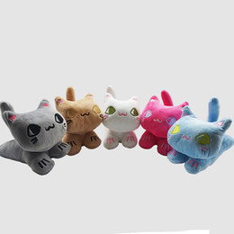 bear dolls UK - New Cute 18cm Running Cat Plush Toy Gift Children Doll Machine Doll Ornaments Children Birthday Holiday Gift