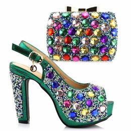 Italy Shoe matching Bag African shoes and bag set high heel Italian shoe  with matching handbag best selling ladies matching shoes 7a1d20add652