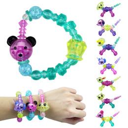 Plastic toys for kids online shopping - Magic Bracelet Collectible Bracelet Set Designs Puppy Bunny Unicorn Kitty Dog Lion Make a Bracelet or Twist into a Pet Toys for Kids