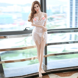 Real Solid Love Dolls Oral Australia - 165cm huge breast Sex Real Doll life Size Realistic head Silicone Love Dolls With Skeleton anal oral vagina TPE Doll
