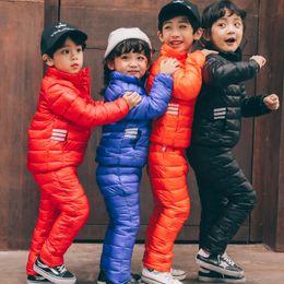 $enCountryForm.capitalKeyWord NZ - 2017 children's winter overalls jackets + pants kids ski suit sets Duck down parka for boys clothing child girls coats