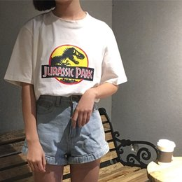 Korean new style shirts online shopping - Regular Korean Style Simple All Match Printed College Wind Loose Casual O Neck Short Sleeve Female T Shirt Fashion New Hot