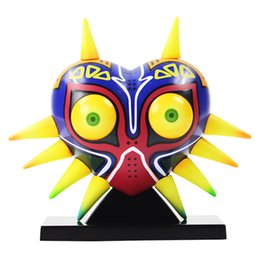 $enCountryForm.capitalKeyWord UK - 12cm The Legend of Zelda Majoras Mask With LED Light Decoration Table Lamp PVC Action Figure Collectible Model Toys