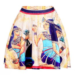 Sport apparel women online shopping - Cleopatra Women Sexy Pleated Skirts Tennis Bowling Bust Shorts Skirts XXL Egypt Pharaoh Female Fitness Sport Apparel A Style