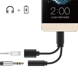 $enCountryForm.capitalKeyWord Canada - 2 in 1 Type C Charging Audio Cable USB-C to 3.5 mm Audio Jack Headphone Adapter for LeTV 2 2 Pro Max