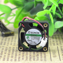 fan for sunon 2020 - For new fan SUNON Jianzhan 2510 5V 0.6W KDE0502PFV3-8 Miniature cooling fan
