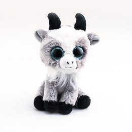 $enCountryForm.capitalKeyWord UK - Ty Beanie Boos Big Eyes Goat 10 - 15cm Stuffed Plush Animals Toys Dolls Child Gift
