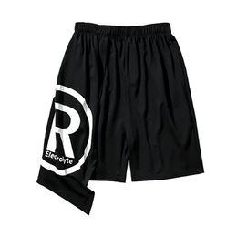Wholesale mens rave clothing online – design Baggy Long Shorts Men Kilt Harajuku Bermuda Masculina Hip Hop Streetwear Mens Gothic Shorts Punk Rave Clothes Body Engineers