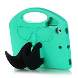 Chinese  EVA Foam Washable Shockproof Soft Case for iPad mini 1 2 3 4 Cartoon Cute Beard Children Kids Tablet Protective Skin Cover+Gifts manufacturers