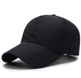 d11c0f8141e Men Women Summer Snapback Quick Dry Mesh Baseball Cap Sun Hat Bone Breathable  Hats Z-5109