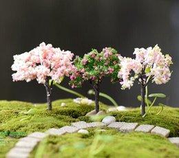 Artificiale Mini Willow Tree Plants Miniature Fairy House Garden Dollhouse Paesaggistica Decor