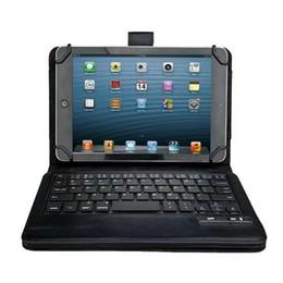 """$enCountryForm.capitalKeyWord Australia - Universal Wireless Bluetooth Keyboard Silicon Case for iPad air Samsung Galaxy 10.1 inch Tab 4 7"""" 8"""" 9"""" inch tablet Case Cover"""