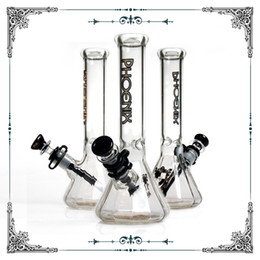 DiamonD glass pipes online shopping - 2018 New phoenix glass Diamonds beaker bottom bong quot hookahs heady water pipes with ice catcher bong glass smoking pipe