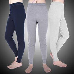 b0ccf0dca56738 Winter Warm Men Cotton Leggings Tight Men Long Johns Plus Size Warm  Underwear Man Thermal Underwear Sleepwear