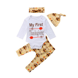 23b871caa thanksgiving baby outfits 2019 - Adorable Newborn Baby Boy Girl Thanksgiving  Tops Romper Pants Hat Outfits