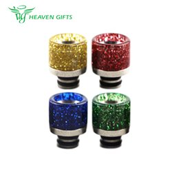 e cigarette spares Australia - Stainless Steel Sequins 510 Drip Tip 0275 for most Atomizers Tanks with 510 mouthpiece High Quality E-Cigarette Spare part