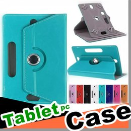 $enCountryForm.capitalKeyWord Australia - 360 Degree Rotate Leather Case Cover Stand For Universal 7 8 9 10 inch Samsung Galaxy Tab 3 4 iPad Air Tablet PC