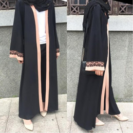 bdc18c59038 Modest Clothes NZ - Women Muslim Abaya Kaftan Islamic Clothing Modest  Jilbab Long Dress Dubai Robe