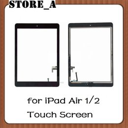 StickerS for ipad air online shopping - For iPad Air Touch Screen Glass Digitizer Assembly with Home Button Adhesive Glue Sticker Replacement Repair Parts Store_A