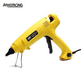 Crimping Kit Australia - Freeshipping 150W-300W Industry Use Professional Dual Power Hot Melt Glue Gun Power Adjustable Repair Kit Tools Tenwa Power Tools S-808