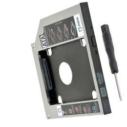 Discount hdd sata drive - 12.7mm new 2nd Hard Drive HDD Caddy For ASUS A53E F80S A52F G57JK N43JF N43JQ N53Jf N53Jg A43 A43SM A43SJ A43SV A43SD