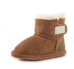 Venta al por mayor de Venta caliente Nueva Australia Real de Alta calidad WGG Kid Niños niñas niños bebé botas de nieve caliente Estudiantes Adolescentes Nieve Invierno botas Envío gratis